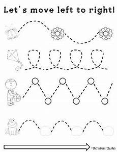 motor skills worksheets 20629 left to right tracing worksheets motor skills coffee tpt tracing worksheets