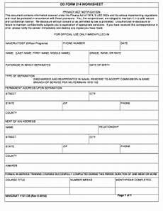 dd form 214 worksheet fill online printable fillable blank pdffiller