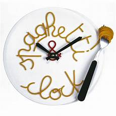 horloge murale originale horloge murale originale spaghettis clock