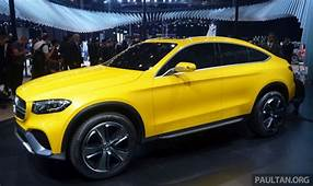Mercedes Benz GLC Coupe Given The Go Ahead For Production