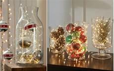 weihnachtliche deko im glas gro 223 e glasvase weihnachtlich dekorieren ideen lichterkette