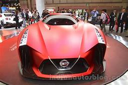 Nissan Concept 2020 Vision Gran Turismo Front At The 2015