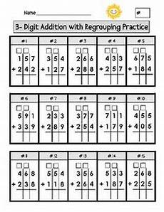 addition within 1000 with regrouping worksheets 9791 1000 images about 3 digit addition and subtraction on subtraction worksheets