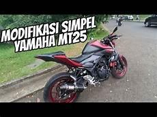 Modifikasi Yamaha Mt25 by Modifikasi Simpel Yamaha Mt25 Tapi Manis