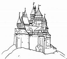 Ritterburg Ausmalbilder Zum Ausdrucken Ritterburg Ausmalbild Malvorlage Phantasie