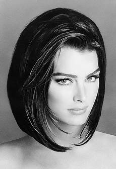 actors in black and white brooke shields photos b w in 2019 short hair styles beauty