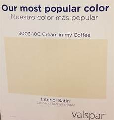lowes says their most popular paint color is valspar cream in my coffee most popular paint