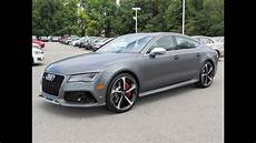 audi rs 7 2015 audi rs 7 sportback start up test drive and in