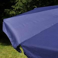 Sonnenschirm 4m Alu Mit Kurbel - sonnenschirm marktschirm 216 3 80m blau mit kurbel alu