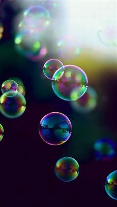 iphone wallpaper bubbles hd tap and get the free app blurred soap bubbles black