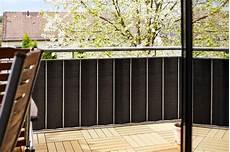 sichtschutz für balkon de gartenfreude polyrattan sichtschutz balkon