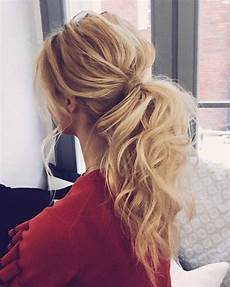 Low Ponytail Wedding Hairstyles