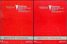 free online car repair manuals download 2001 pontiac aztek electronic valve timing 1994 pontiac bonneville repair shop manual original set with se sse ssei
