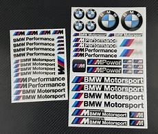 mpower aufkleber blatter 53 stickers bmw m performance