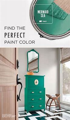 updating your antique chest of drawers using a bold paint color like mermaid sea and gold pull