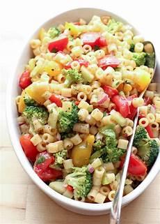 marinated vegetable pasta salad barefeetinthekitchen com