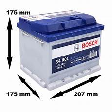 Bosch Starterbatterie S4 001 44ah 440a 12v