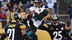 steelers jaguars playoffs nfl minute steelers disappointing playoff loss to jaguars