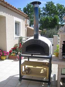 four à pizza bois four 224 pizza et bois brazza 90 cm my barbecue