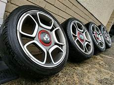 17 quot fiat 500 abarth alloy wheels tyres 4x100 in