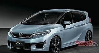 Next Gen Honda Jazz Fit Imagined  Rendering