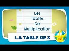 la table de multiplication comptines pour enfants la table de 3 apprendre les