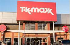 tk maxx the discount fashion retailer shop sign editorial