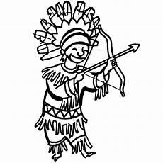 kostenlose malvorlage cowboys indianer indianer mit
