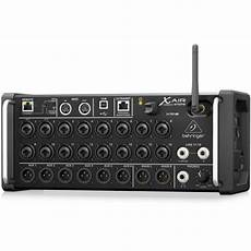 behringer xr18 air behringer x air xr18 18 channel 12 digital mixer for android tablets cannon sound