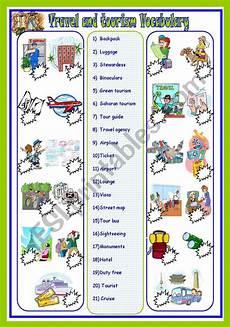 places to visit worksheets 16035 travel and tourism vocab esl worksheet by sassouki