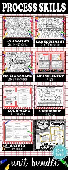 physical science measurement worksheets 13142 lab safety equipment and measurement science big unit bundle lab safety science safety