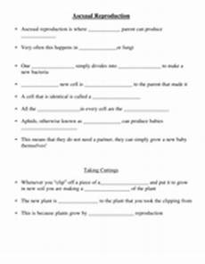animal reproduction worksheets for grade 5 14018 asexual reproduction by missmolyneux uk teaching resources tes