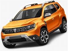 3d Model Dacia Duster 2018 Cgtrader