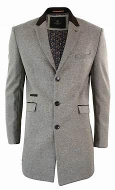 veste homme 3 4 manteau homme longueur 3 4 veste formelle chic gris coupe
