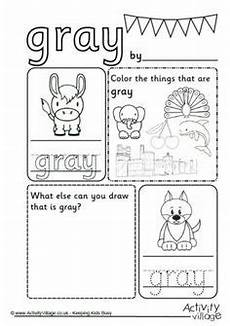 color gray worksheets for preschool 12862 primary color practice yellow colors for preschool preschool worksheets and