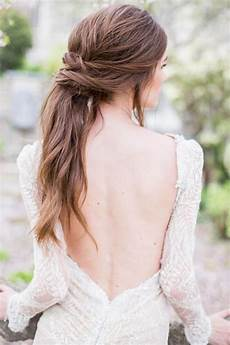 Low Ponytail Wedding Hairstyles gorgeous wedding hairstyles for hair tania maras
