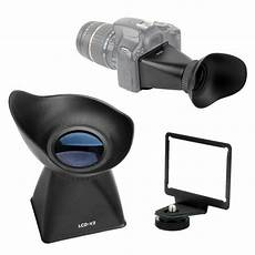 Optical Glass Monitor Viewfinder Magnifier Eyecup by For Dslr 600d Rebel T3i 60d Lcd Monitor Viewfinder 2 8x