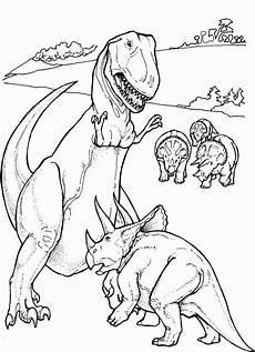dinosaur tyrannosaurus rex free printable coloring pages