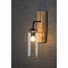 rustic wood glass wall light modern designer wall lights desres
