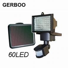 solar light led flood security solar garden light with pir