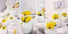 D 233 Coration De Table En Jaune Et Blanc D 233 Co R 233 Majeur