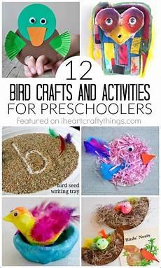 12 bird crafts and activities for preschoolers bird