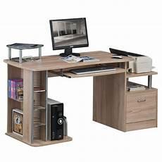 sixbros bureau informatique meuble bureau aspect bois de