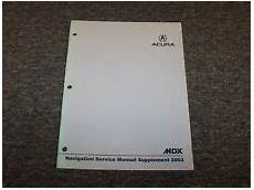 book repair manual 2008 acura mdx regenerative braking acura mdx repair manual ebay