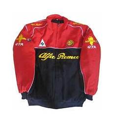 race car jackets alfa romeo jacket black