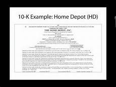 badm495 introduction to sec form 10 k youtube