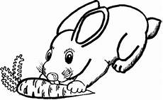 ausmalbilder zum drucken malvorlage kaninchen kostenlos 3