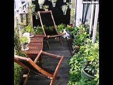 kleiner balkon m 246 bel im garten ideen