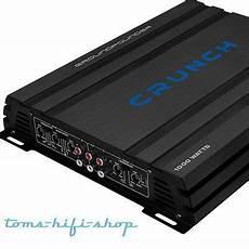 crunch gpx 1000 4 crunch gpx 500 2 2 kanal 500 watt car hifi kfz verst 228 rker