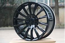 4 new 18 quot rims wheels for mercedes black amg rims